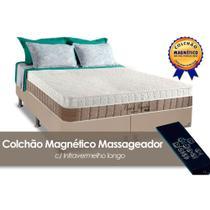 Conjunto Box-Colchão Anjos Magnético+Cama King 193 - A Costa Rica