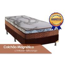 Conjunto Box Colchão Paropas Magnético+Cama Solteiro 88 - A Costa Rica