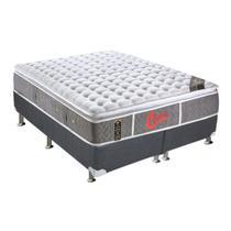 Conjunto Box-ColchãoCastor Pocket Oxygen+Cama King 193 -