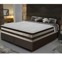 Conjunto Box Queen 158 cm com Pillow Top Love Story Gazin - Gazin Colchões