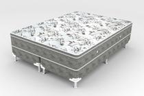 Conjunto Box Queen Size Newsonno Master One Face 158x198x60 - New sonno