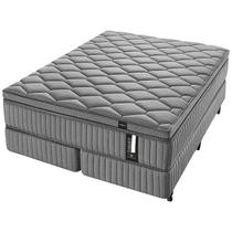 Conjunto Box Super King Molas Ensacadas Americanflex Diamante 193x203x78cm
