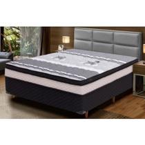 Conjunto Box Xicória Comfort Plus Vip 138x188x61 - Hellen Colchoes