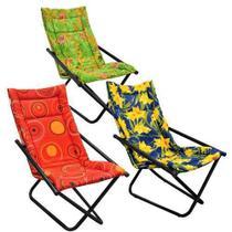 Conjunto Cadeiras de Descanso com 3 Unidades Mônaco Metalmix -