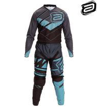 Conjunto Calça Camisa Asw Image Stages 20 Motocross Tam 38/M -