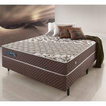 Conjunto Cama Box Casal Relax Brown - 138x188x063 - Ecoflex