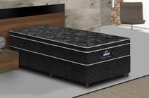 Conjunto cama box Pérola Negra Solteiro 188x88cm 630 Gazin - Gazin Colchões