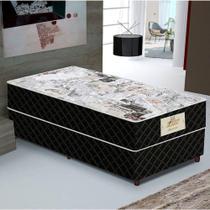 Conjunto Cama Box Solteiro Gazin Conjugado Supreme D28 0,88x1,88 -