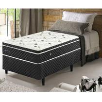 Conjunto Cama Box Solteiro Soft Confort Euro Pillow - 078x188x060 - Ecoflex