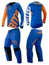 Conjunto Camisa Calça Amx Classic Extreme Trilha Motocross -
