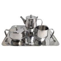 Conjunto Chá e Café 5 pçs Hercules Plaza -