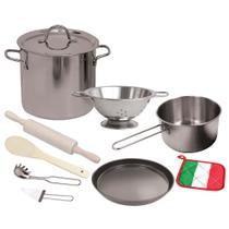 Conjunto Chef de Cozinha - Cookware - 10 Peças - New Toys -