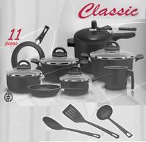 Conjunto Classic 11 Peças Teflon com Panela de Pressão - Marpal