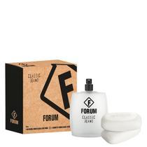 Conjunto Classic Jeans Forum Unissex - Deo Colônia 100ml + Sabonetes 2x90g -