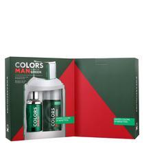 Conjunto Colors Man Green Duo Benetton Masculino - Eau de Toilette 100ml + Desodorante 150ml -