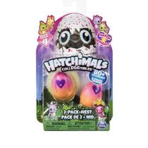Conjunto com 2 Mini Figuras Surpresa - Hatchimals Colleggtibles - Sunny -