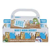 Conjunto com 3 Mini Figuras Surpresa - Lost Kitties - Hasbro -