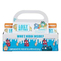 Conjunto com 3 Mini Figuras Surpresa - Lost Kitties - Multipack - Hasbro -