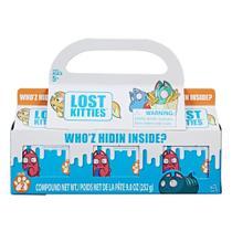 Conjunto com 3 Mini Figuras Surpresa - Lost Kitties - Multipack - Hasbro -