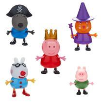 Conjunto Com 5 Bonecos - Peppa Pig - DTC -