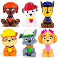 Conjunto com 6 mini  Figuras Patrulha Canina - Sunny -