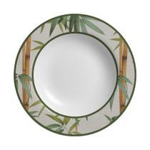 Conjunto com 6 pratos fundo bambu plus - Alleanza Cerâmica