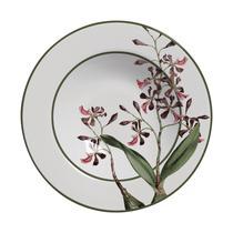 Conjunto com 6 pratos fundo orquideas plus - Alleanza Cerâmica