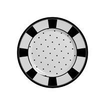 Conjunto com 6 prtaos sobremesa petit pois plus - Alleanza Cerâmica