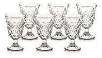 Conjunto Com 6 Taças Copo Para Água Vidro 226 Ml Promo - Wincy