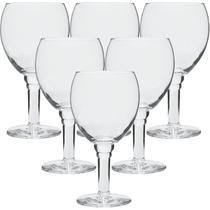 Conjunto Com 6 Taças de Vidro Para Cerveja e Chopp 430ml Confraria - Crisal -