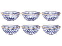 Conjunto Com 6 Tigelas Em Cerâmica 16cm - 600ml - La Carreta - Oxford -