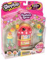 Conjunto com 8 Shopkins - Coleção Moda Fashion - S4 TROPICAL - Dtc