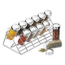 Conjunto com suporte e 12 potes de tempero kitchen craft - KITCHEN CRAFT  T2