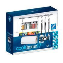 Conjunto Cook Home Kit 17 Com 12 Peças - Arthi