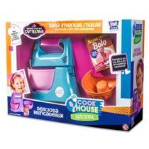 Conjunto Cook House Batedeira Com 4 Peças Infantil Zuca Toys - Fmsp -