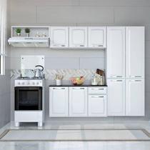 Conjunto Cozinha Amanda 4 Peças Itatiaia - Branco -