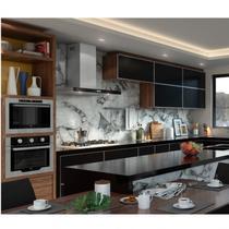 Conjunto Cozinha Infinity com Coifa, Cooktop e Forno Fischer Preto -