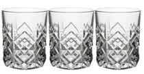 Conjunto de 3 Copos de Vidro Samantha Whisky 310ml - City Glass