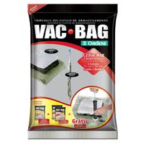 Conjunto de 3 Sacos a Vácuo VAC BAG Ordene com Bomba -