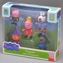 Conjunto De 5 Figuras Amigos Da Peppa Pig 4200 - Dtc -