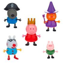 Conjunto de 5 Figuras - Amigos da Peppa Pig - DTC 4200 -