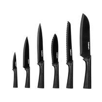 Conjunto de 6 Facas Metallic Cuisinart -