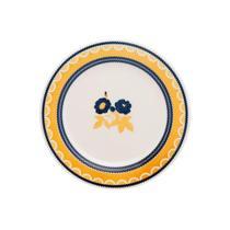 Conjunto de 6 Pratos Sobremesa 19cm Donna Giardino - Biona