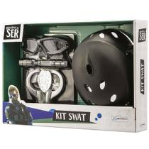 Conjunto de Acessórios - Brincando de Ser - Kit SWAT - Multikids -