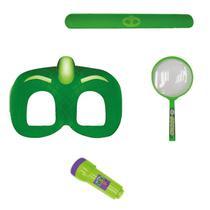Conjunto de Acessórios - PJ Masks - Máscara e Acessórios - Lagartixo - Candide -