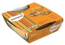 Conjunto de Assadeiras Quadradas Marinex - Kit 3 Peças - NADIR FIGUEIREDO