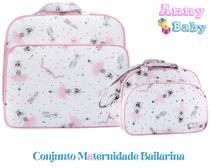 Conjunto de Bolsa Maternidade Mala e Bolsa G Bailarina - Lilian baby