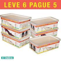 Conjunto De Caixa Para Sapatos Média - Leve 6 Pague 5 - Ordene -