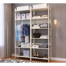 Conjunto De Closet Modulado Para Quarto CBCLA01 Off White Completa Moveis - Completa Móveis