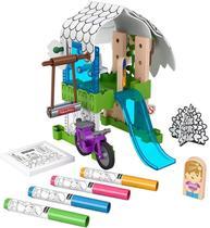 Conjunto de Colorir - Casa na Árvore - Fisher-Price - Mattel